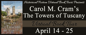 Banner of the Towers of Tuscany Blog Tour: April 14 to 24