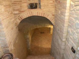 Cellar at the Villa Ducci