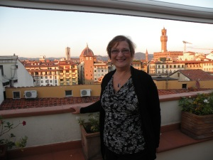 Rooftop bar at the Hotel Pitti Palace al Ponte Vecchio in Florence