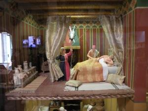 Diorama in the San Gimignano 1300 Museum