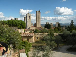 Skyline of San Gimignano