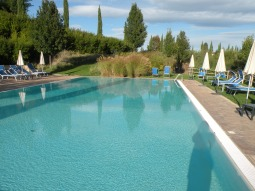 Swimming pool at the Villa Ducci