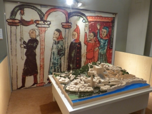 Model of the Jewish quarter of Girona in the middle ages