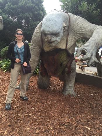 Julia and Troll at WETA workshop