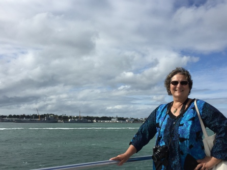On the ferry to Waiheke