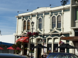 Attractive old buildings in Nelson