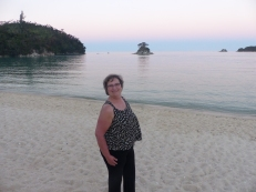 Sunset at Abel Tasman Park