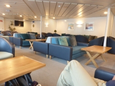 Premium Lounge on the Picton to Wellington ferry