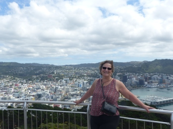 Overlooking Wellington