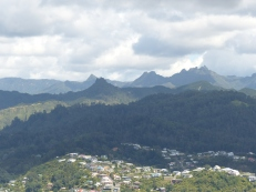 Mountains of the Coromandel Peninsula from Mt. Paku